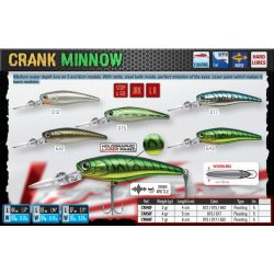 CRANK MINNOW 40F Color 012