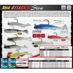 SHAD ATTACK SLOW 16GR COLOR 12