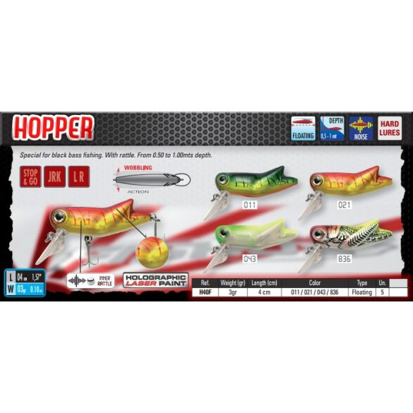 HOPPER 40F Color 043