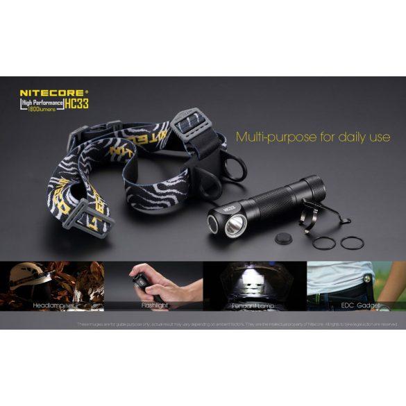 Nitecore HC33 1800 lumen
