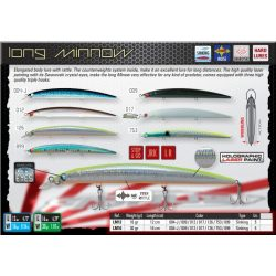 LONG MINOW 120 COLOR 012