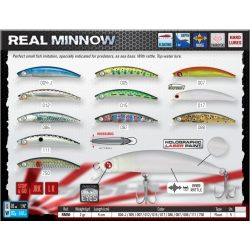 REAL MINNOW 50F Color 017